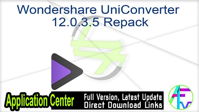 Wondershare UniConverter 12.0.3.5 Repack