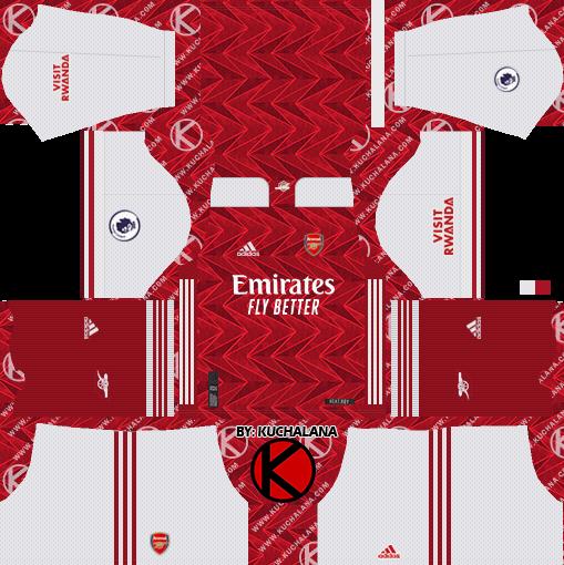 arsenal 2020 21 adidas kit dls2019