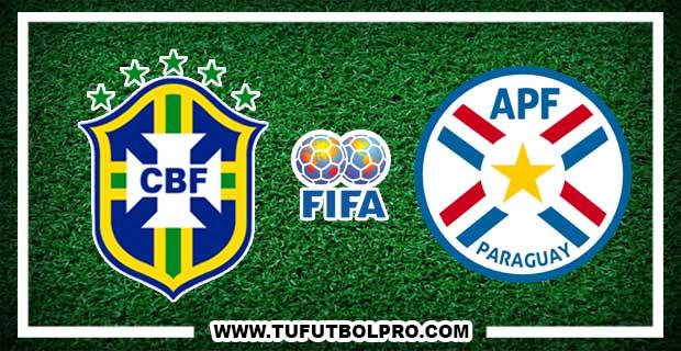 Ver Brasil vs Paraguay EN VIVO Por Internet Hoy 28 de Marzo 2017