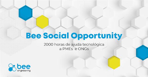 Bee Engineering disponibiliza 2000 horas anuais de apoio tecnológico em regime Pro Bono