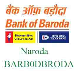 New IFSC Code Dena Bank of Baroda Naroda
