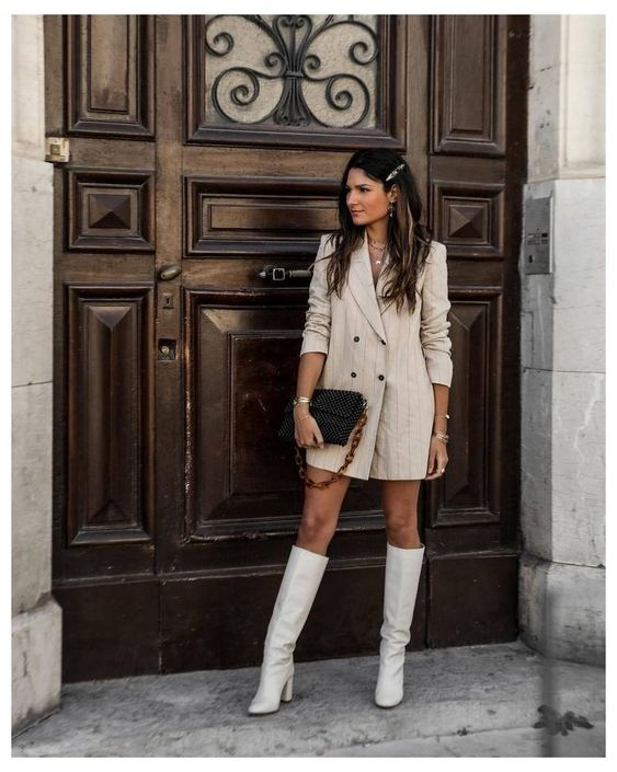 WHITE BOOT FASHION TREND