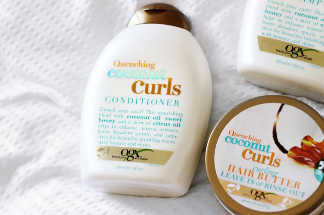 OGX Coconut Curls Review