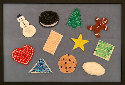 Cookie felt set for flannel board
