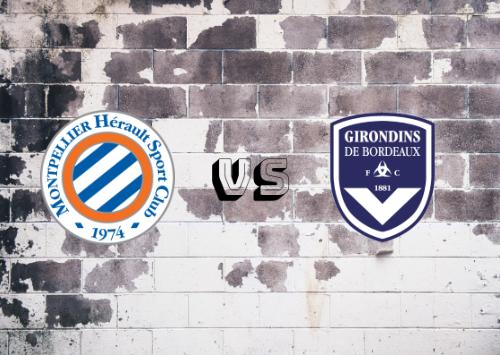 Montpellier vs Girondins de Burdeos  Resumen