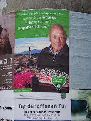 Dr. Dietrich von Dobeneck zur Landesgartenschau Traunstein