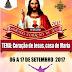 Festa do Sagrado Coração de Jesus tem início na comunidade de Cachoeira, na cidade de Caraúbas (RN)