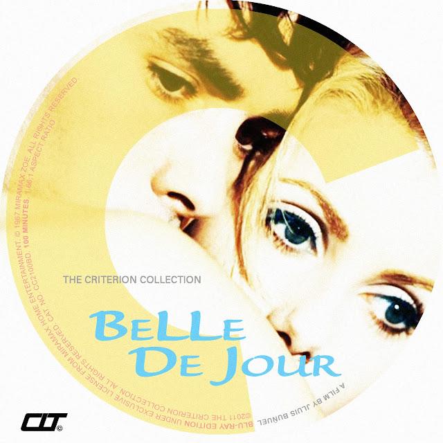 Belle de Jour Bluray Label