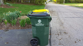 trash/recycling delayed one day this week