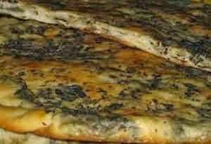 خبز بالزعتر