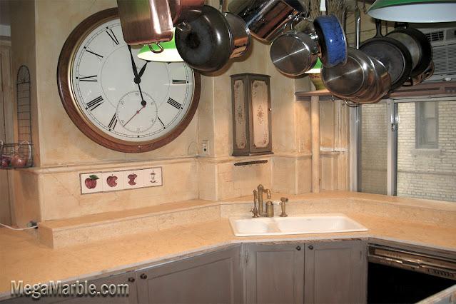 Beige Marble Countertop