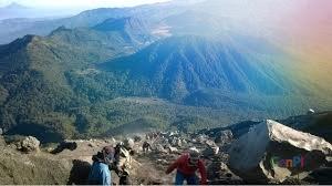 Jalur daki gunung semeru