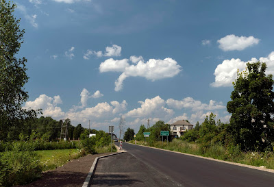 I got a new road, I got it good - south of Opole Lubelskie