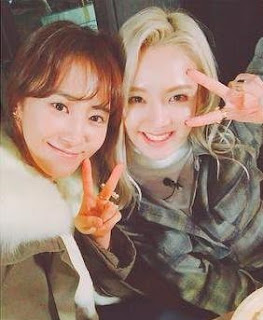 SNSD Yuri and Hyoyeon KBS Star Top Recipe at Funstaurant