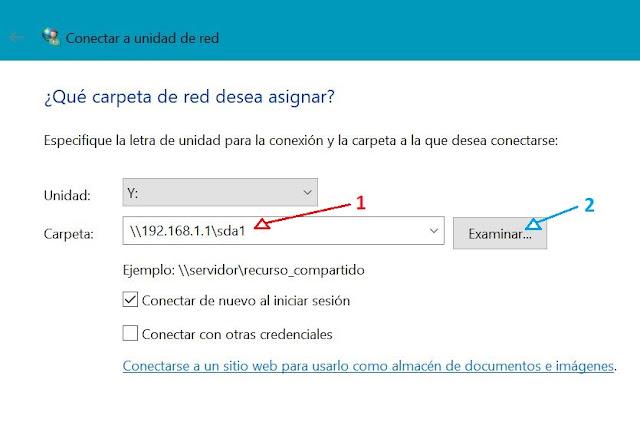 Como añadir unidad smb en windows