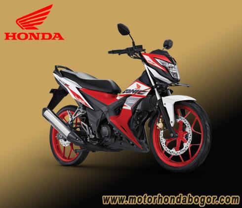 Mau Kredit Motor Honda Sonic Bogor