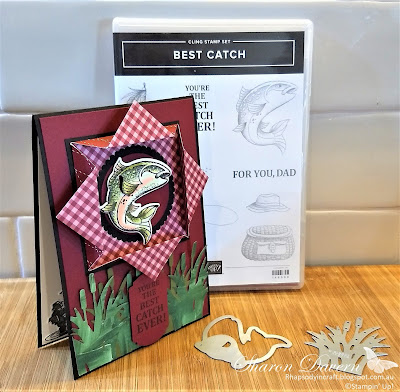 Best Catch, Male Cards, Masculine cards, Stampin' Up!. Rhapsodyincraft, #loveitchopit