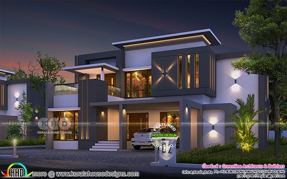 2861 sq-ft 4 bedroom beautiful house