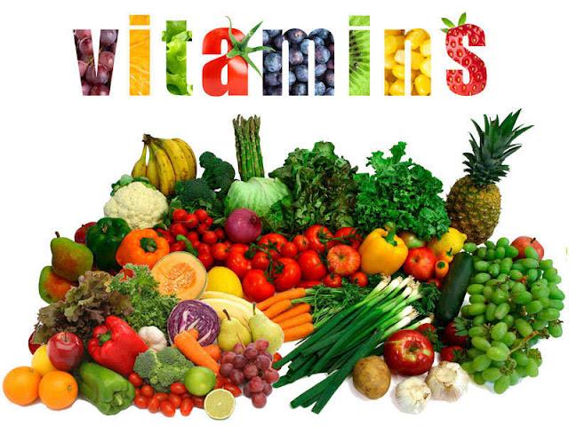المصادر الطبيعية للفيتامينات vitamins