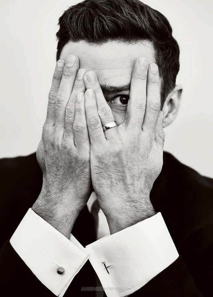 Justim Timberlake para The Hollywood Reporter por Miller Mobley
