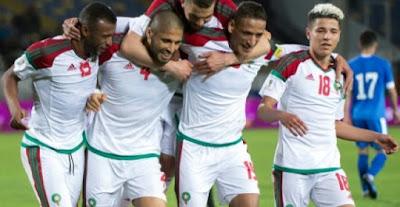 المنتخبات العربية المشاركة في روسيا