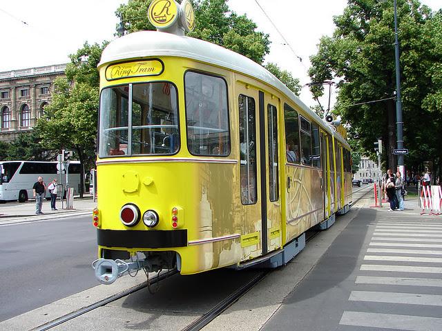Vienna tram ring Ringstrasse