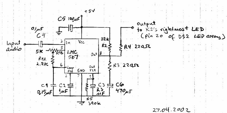 LA3ZA Radio & Electronics: QRP Zero-beat Indicator for the