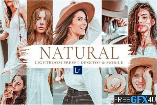 10 Natural Mobile & Lightroom Presets