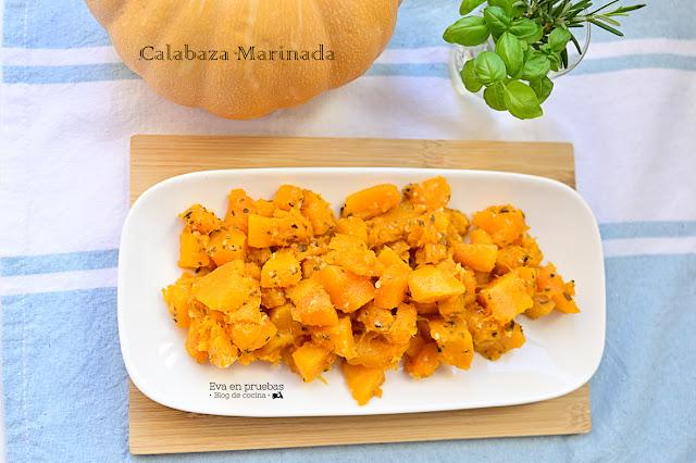 Calabaza Marinada
