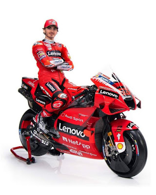Livery Ducati MotoGP 2021 Francesco Bagnaia