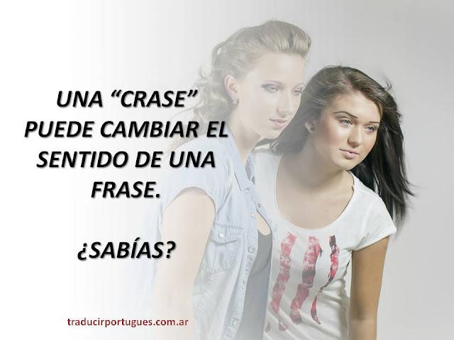 CRASE, acento grave, portugués, traducciones, traductora