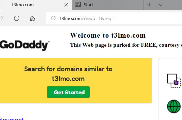 حل مشكلة عدم فتح الموقع المحجوز من جودادي الا عند كتابة www