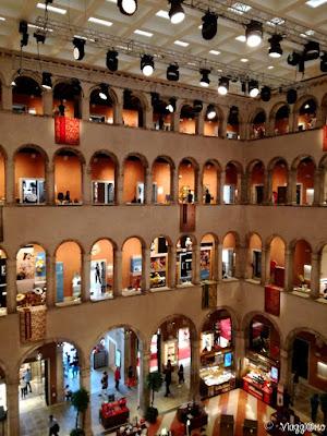 La Galleria Commerciale nella Fondaco dei Tedeschi a Venezia