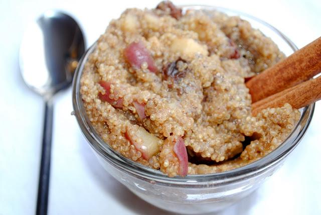Apple Cinnamon Breakfast Quinoa