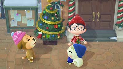 Animal Crossing Christmas