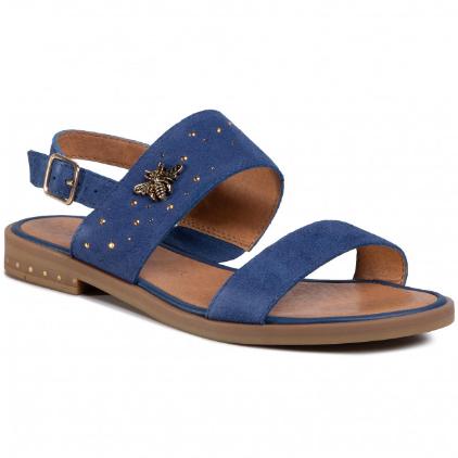 Sandale cu talpa joasa comode de femei albastre LASOCKI
