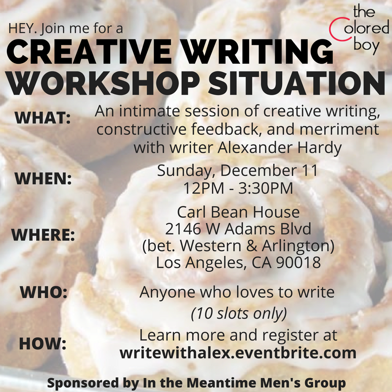 creative writing classes west los angeles