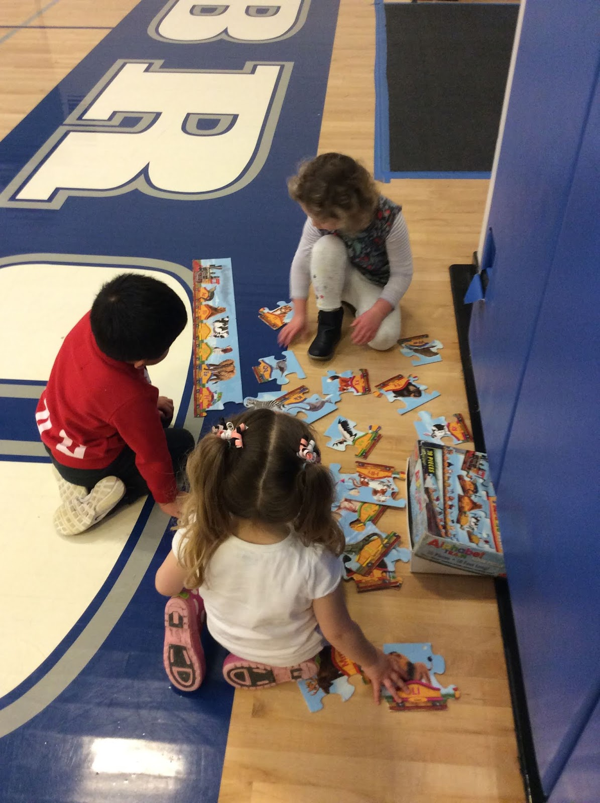 Utopia Preschool Rainy Day Gym Activities