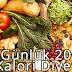 7 Günlük 2000 Kalori Diyeti
