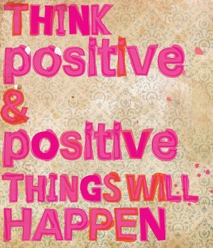 think positive - Inspirational Positive Quotes with Images
