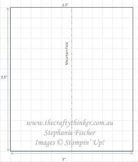 #thecraftythinker #stampinup #tutorialstepcard #funfold #funfoldtutorial ,Tutorial , Step Card, Fun Fold, Stampin' Up Demonstrator Stephanie Fischer, Sydney NSW