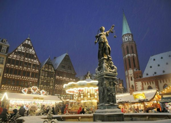 4-Day German Christmas Market Package: Frankfurt / Nuremberg / Rothenburg