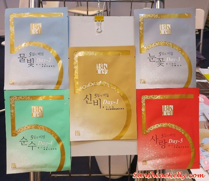 5 Days Masks from Fanipin Korea, K-Show 2014, Korean Lifestyle Trend, Korean hanbok, korean tradition, korean wave, korean culture, korean trend