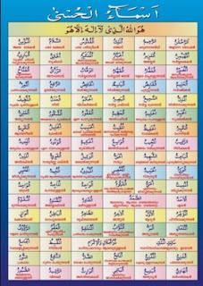 Download Tulisan Arab Asmaul Husna Dan Artinya Pdf To Word