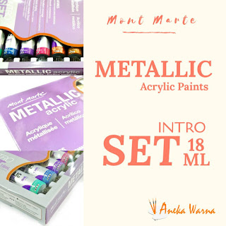 mont marte metallic set 18 ml