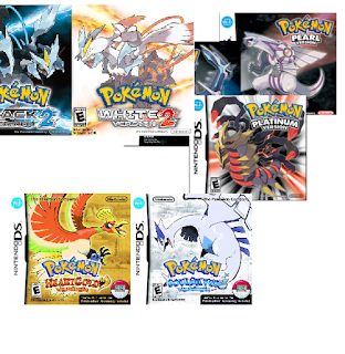 Download Pokemon NDS Pack (Gen 4-Gen 5) + Emulator