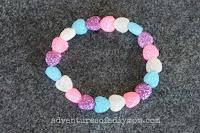 heart sparkle bracelet