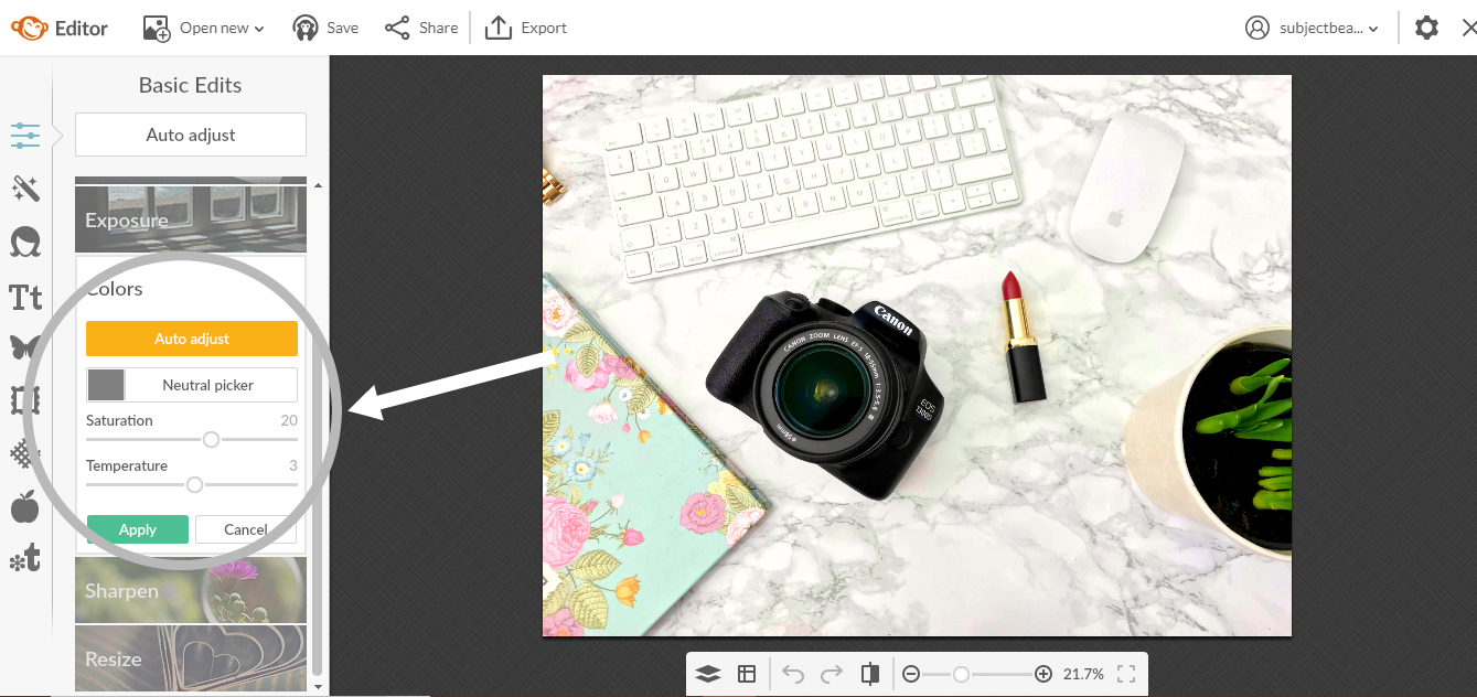 How I Take/Capture and Edit My Blog Photos - Without Photoshop