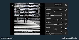 LIGHT - Tutorial Edit Lightroom Street Urban