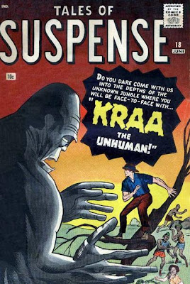 Tales of Suspense #18, Kraa the unhuman